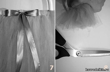 как сшить юбку-пачку, юбка-пачка