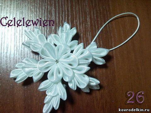 学做丝带花教程