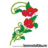 kovrodelkin.ru, needle punch, нидл панч, схема для ковровой вышивки, скачать бесплатно