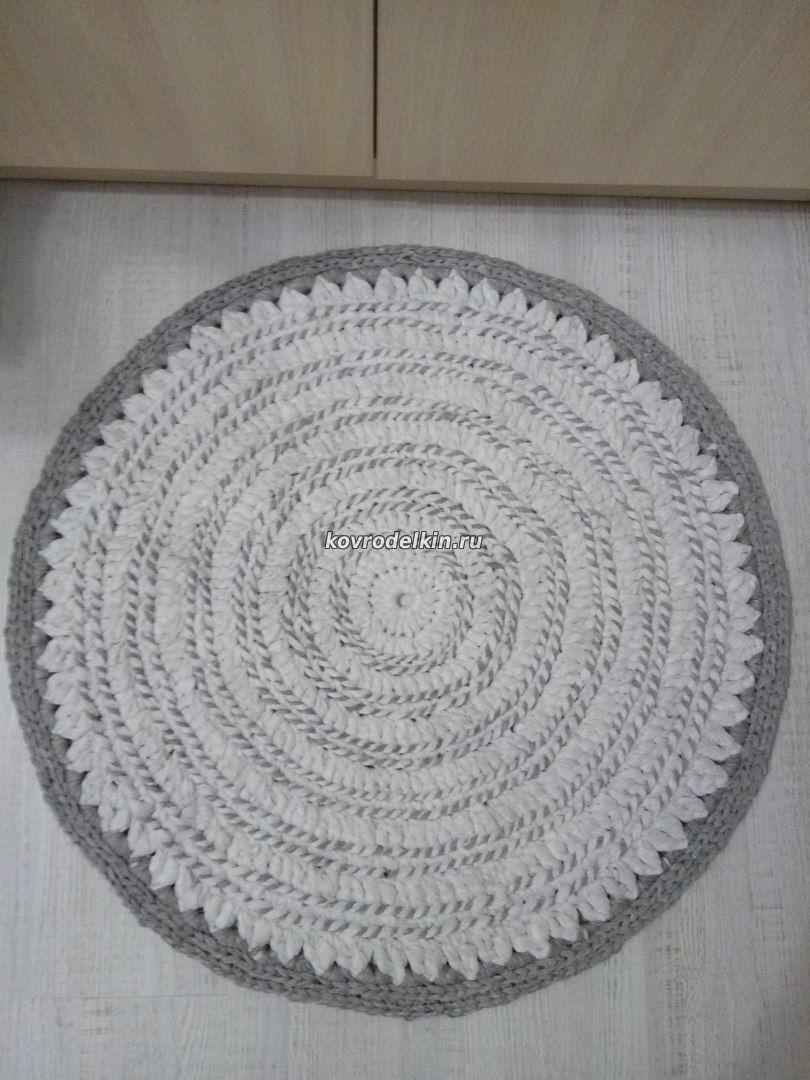коврик из тюля своими руками 3 января 2017 ковровая вышивка и