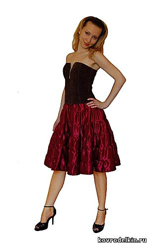 юбка, шитье, многоярусная юбка