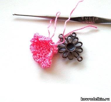 серьги, вязание крючком, бижутерия, швензы, коннекторы, вязание, круглогубцы