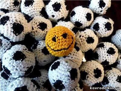бусина, футбольный мяч, бижутерия, вязание крючком