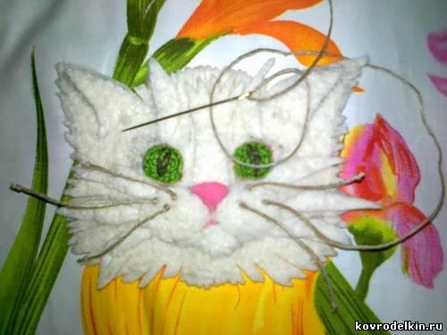 Ютуб мастер класс по вязанию шарф-кот пошаговый #1