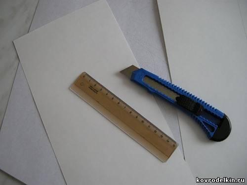 открытка, картон, вышивка крестом