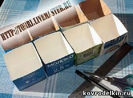 коробка, мелочи, картон