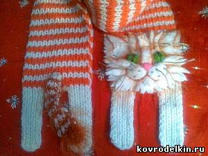 Схема кота шарфа
