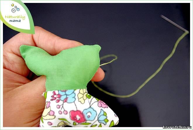 мастер-класс по шитью вальдорфской куклы
