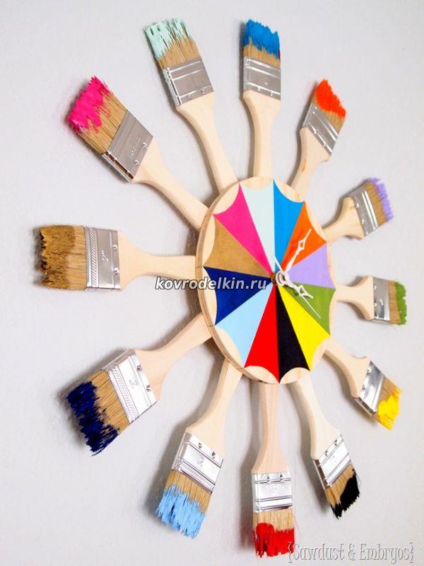 Покрасить часы своими руками