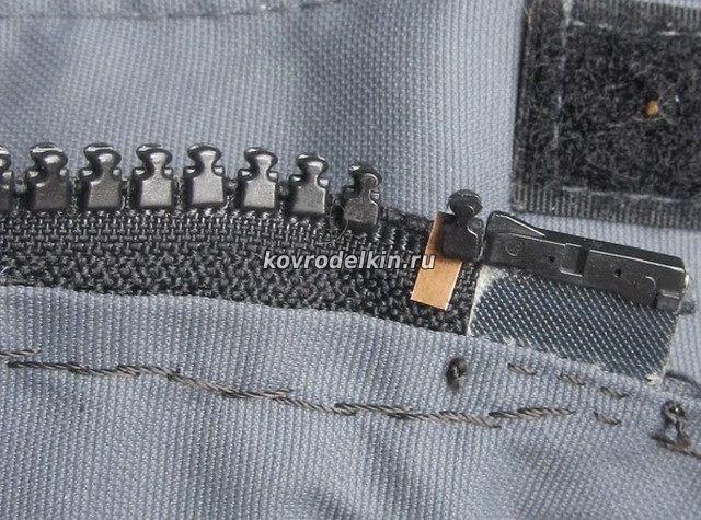 Как отремонтировать молнию на куртке своими руками