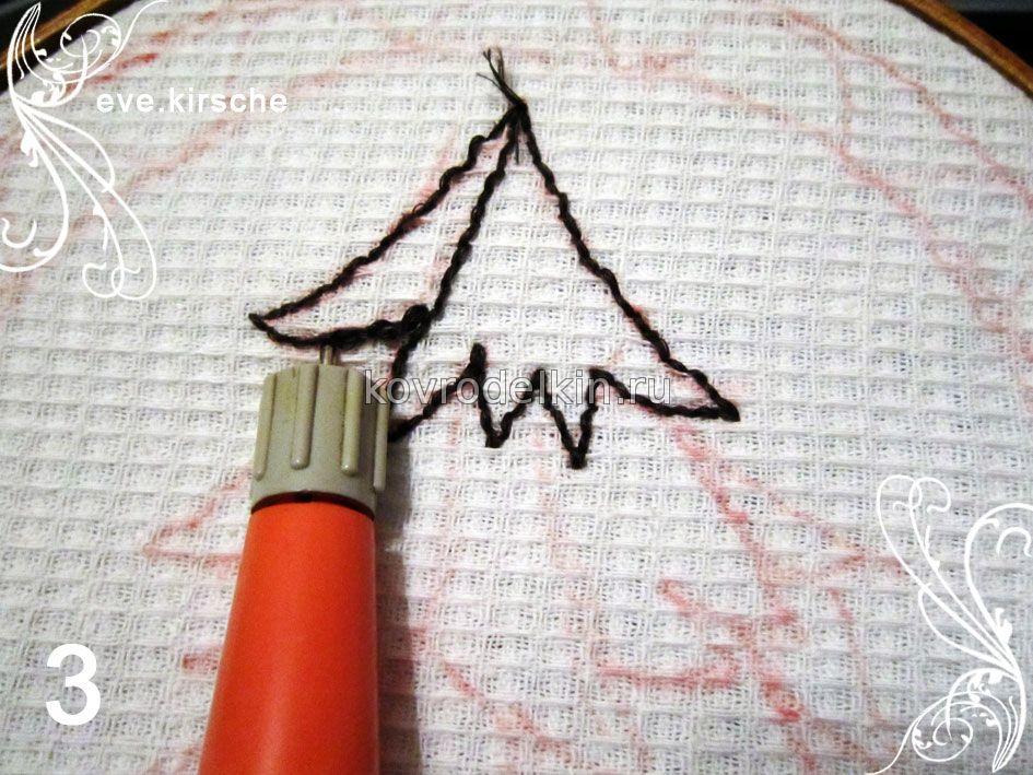 Вышивки ковровой иглой 69